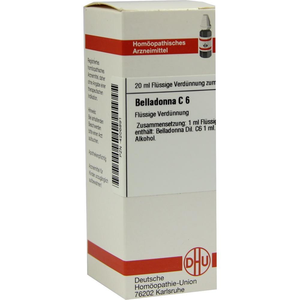 BELLADONNA C 6 Dilution