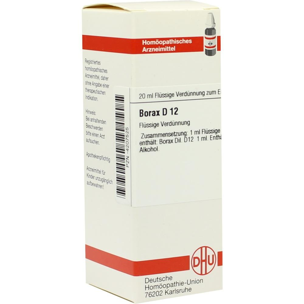 BORAX D 12 Dilution