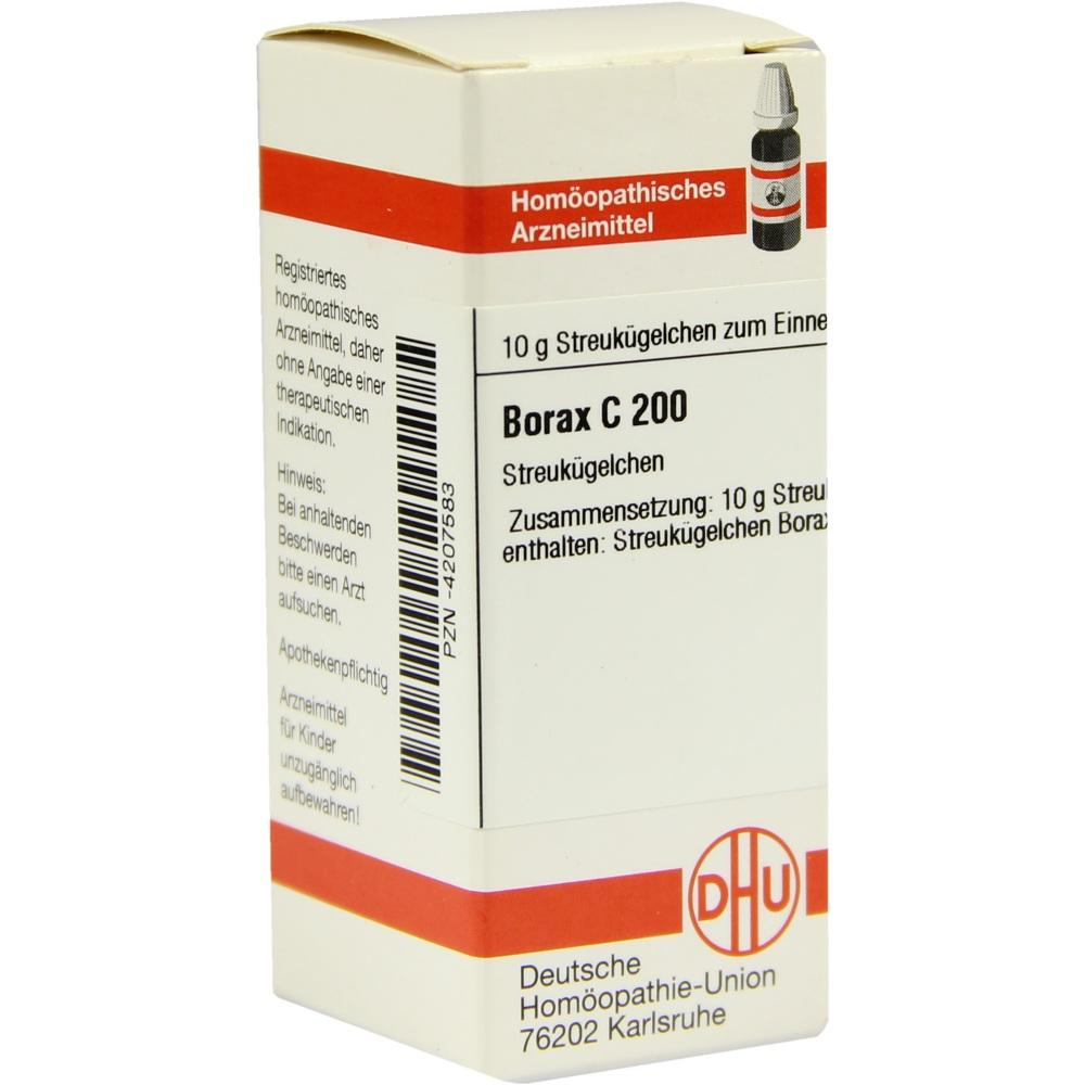 BORAX C 200 Globuli
