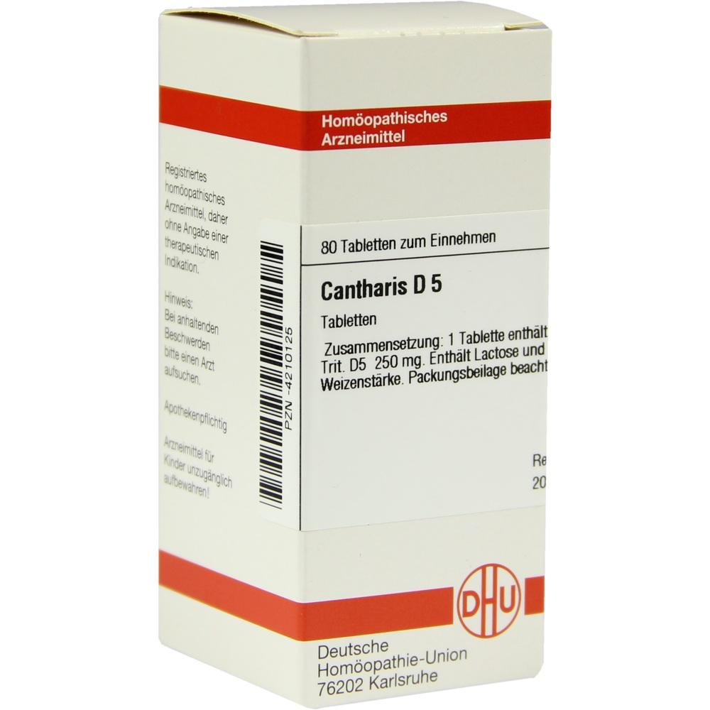 CANTHARIS D 5 Tabletten