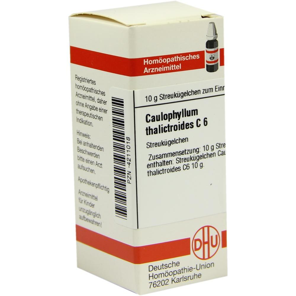 CAULOPHYLLUM THALICTROIDES C 6 Globuli