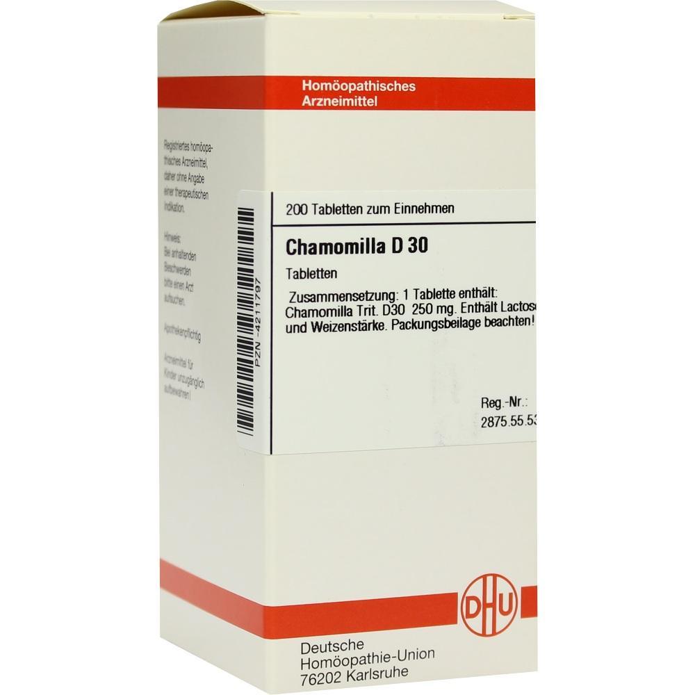 CHAMOMILLA D 30 Tabletten