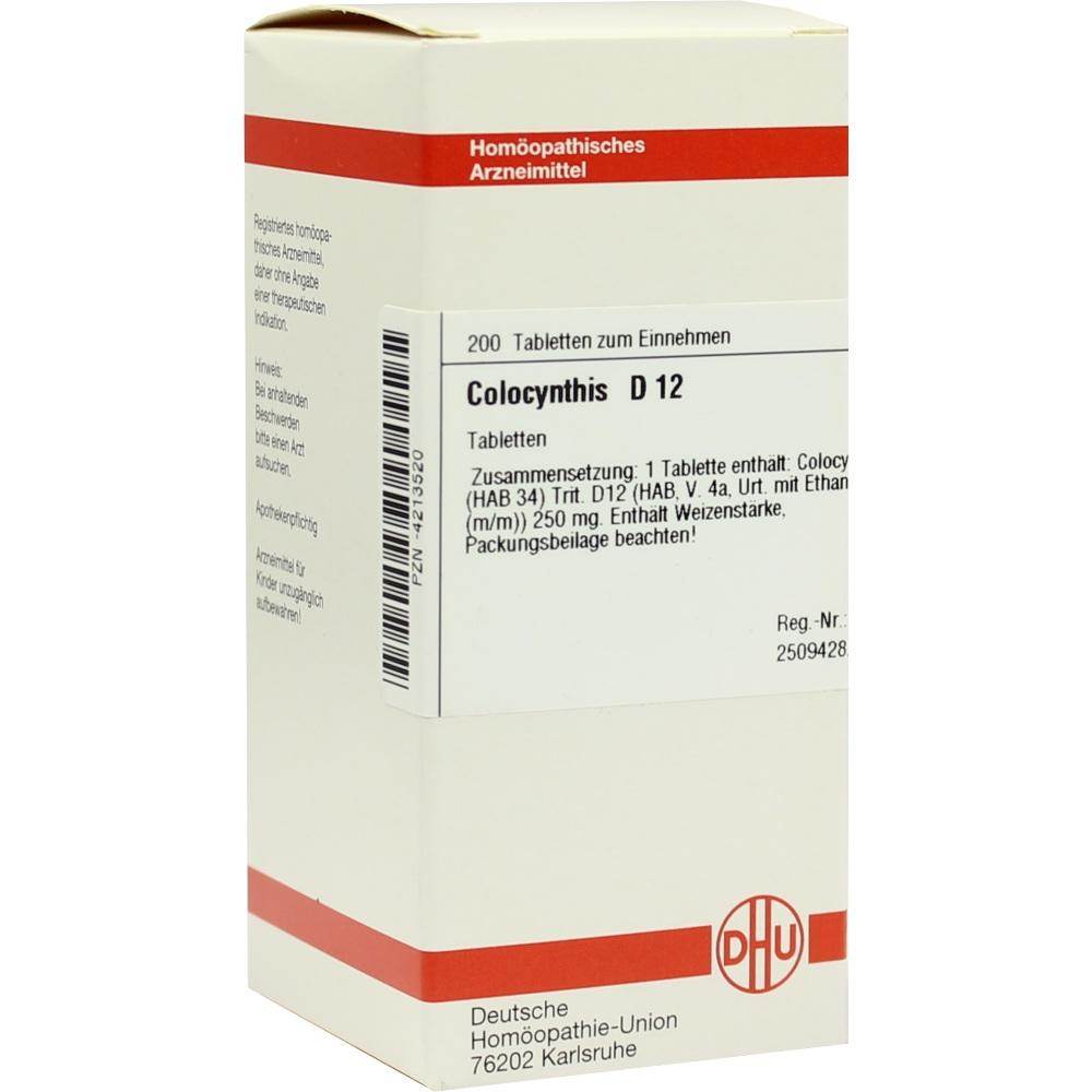 COLOCYNTHIS D 12 Tabletten
