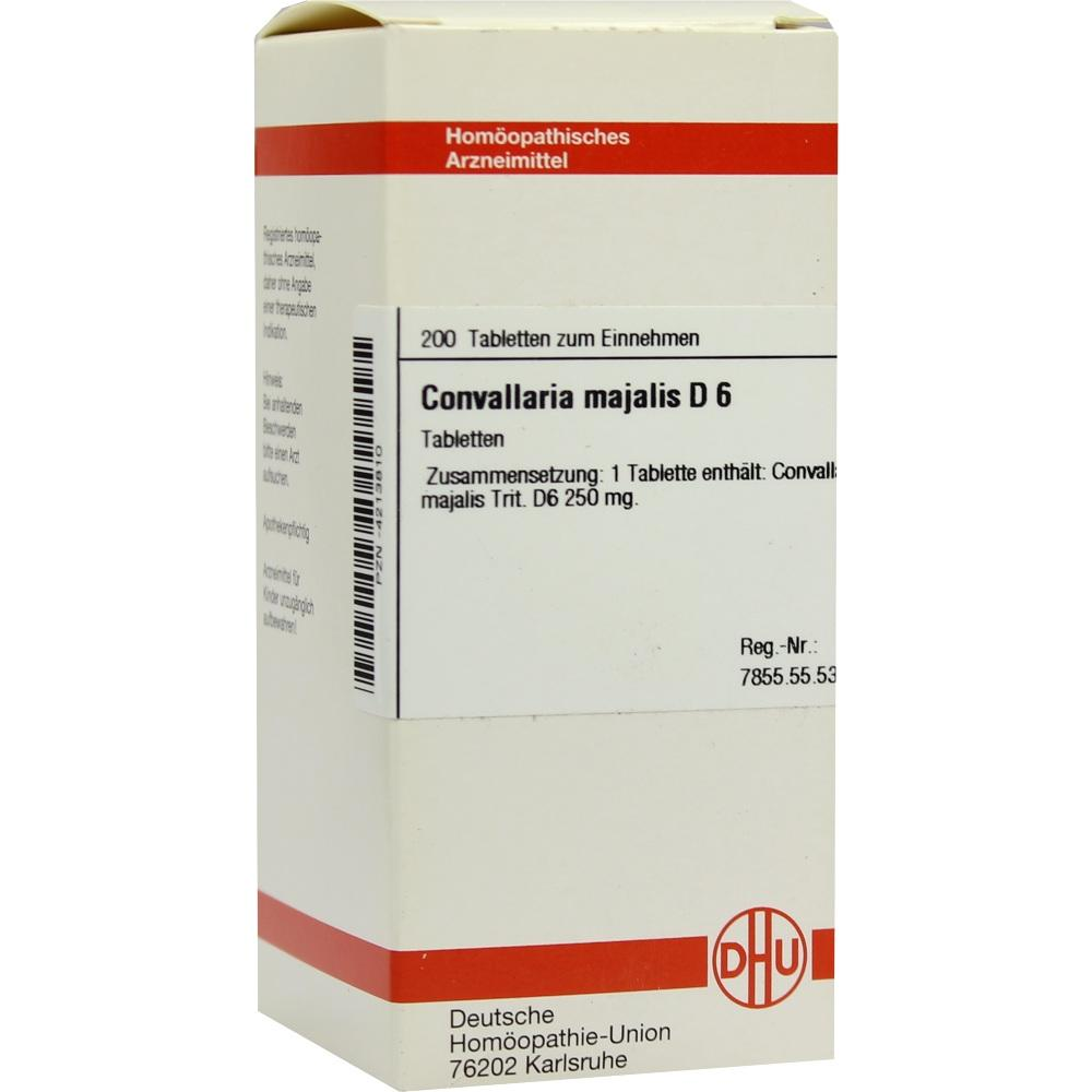CONVALLARIA MAJALIS D 6 Tabletten