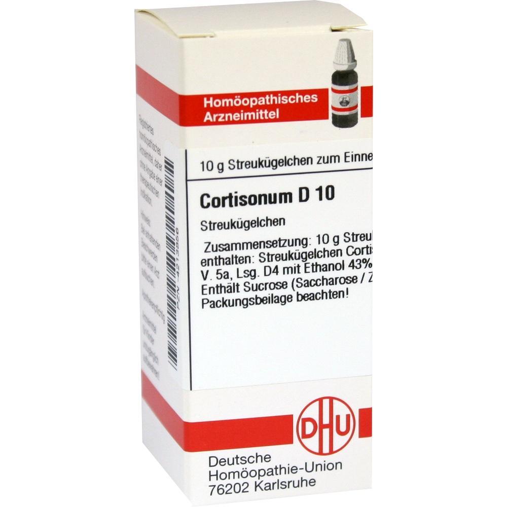 CORTISONUM D 10 Globuli