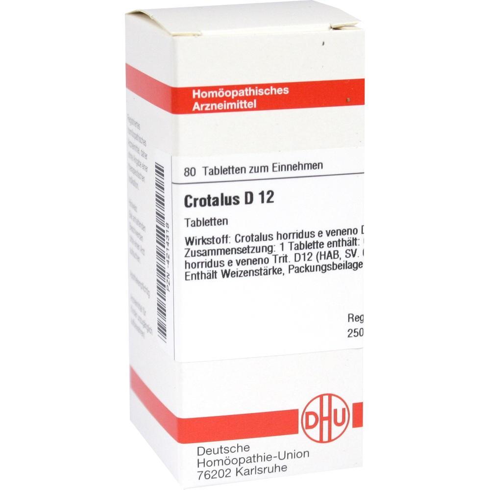 CROTALUS D 12 Tabletten