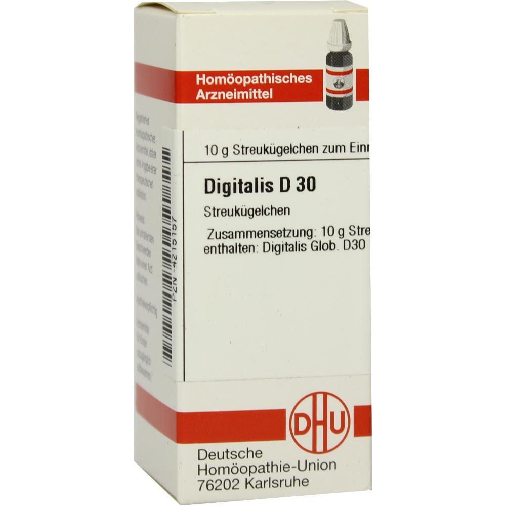 DIGITALIS D 30 Globuli