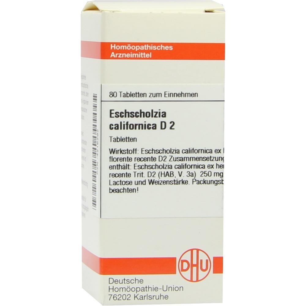 ESCHSCHOLZIA D 2 Tabletten