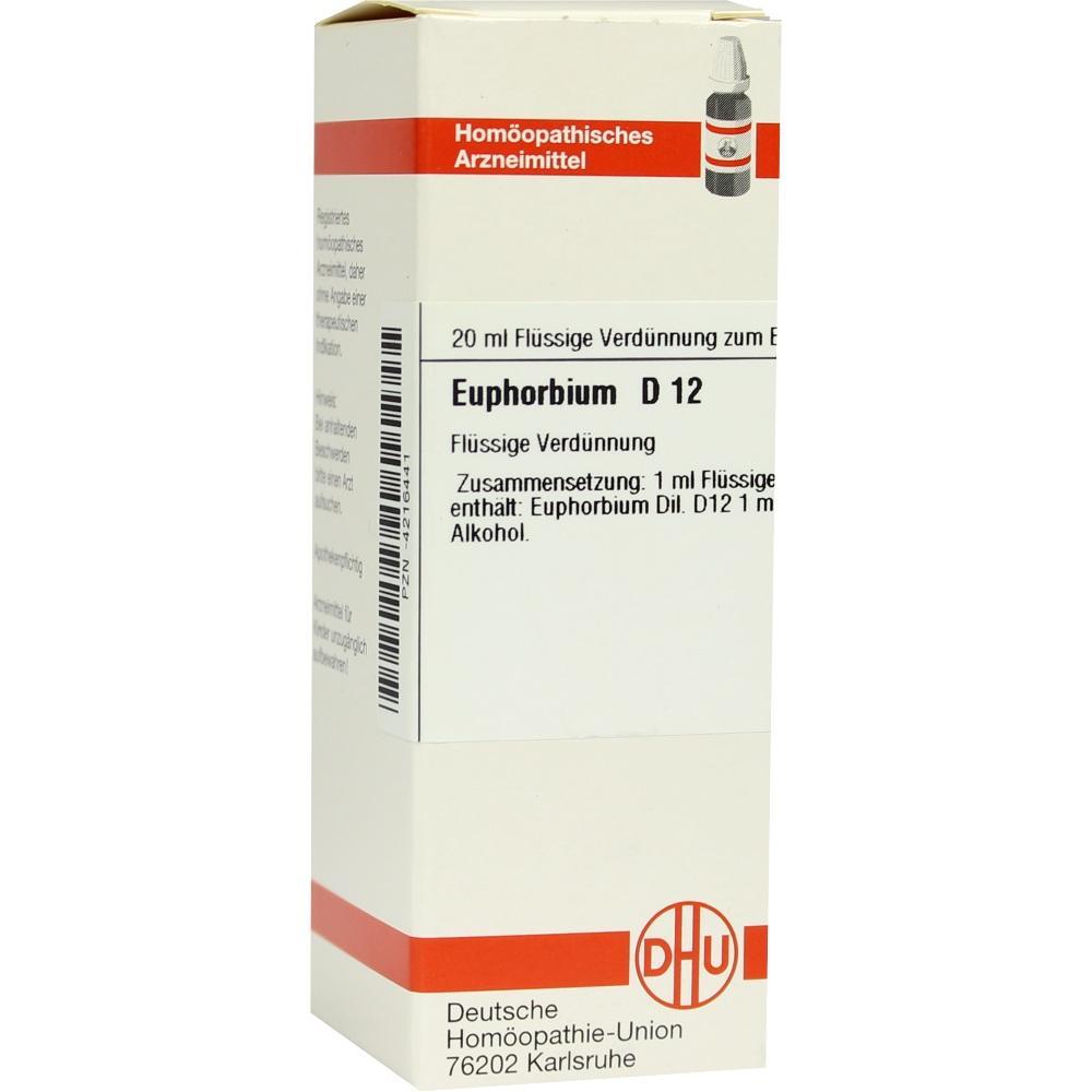 EUPHORBIUM D 12 Dilution