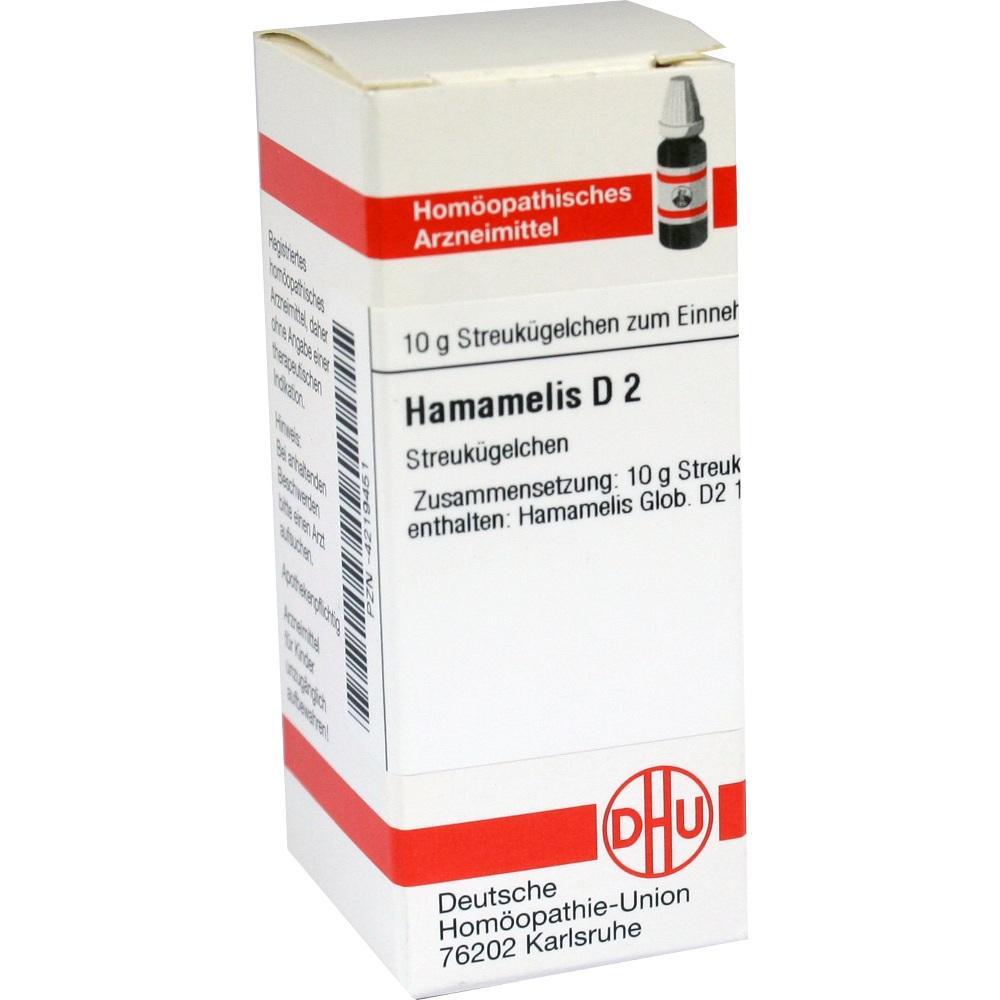 HAMAMELIS D 2 Globuli