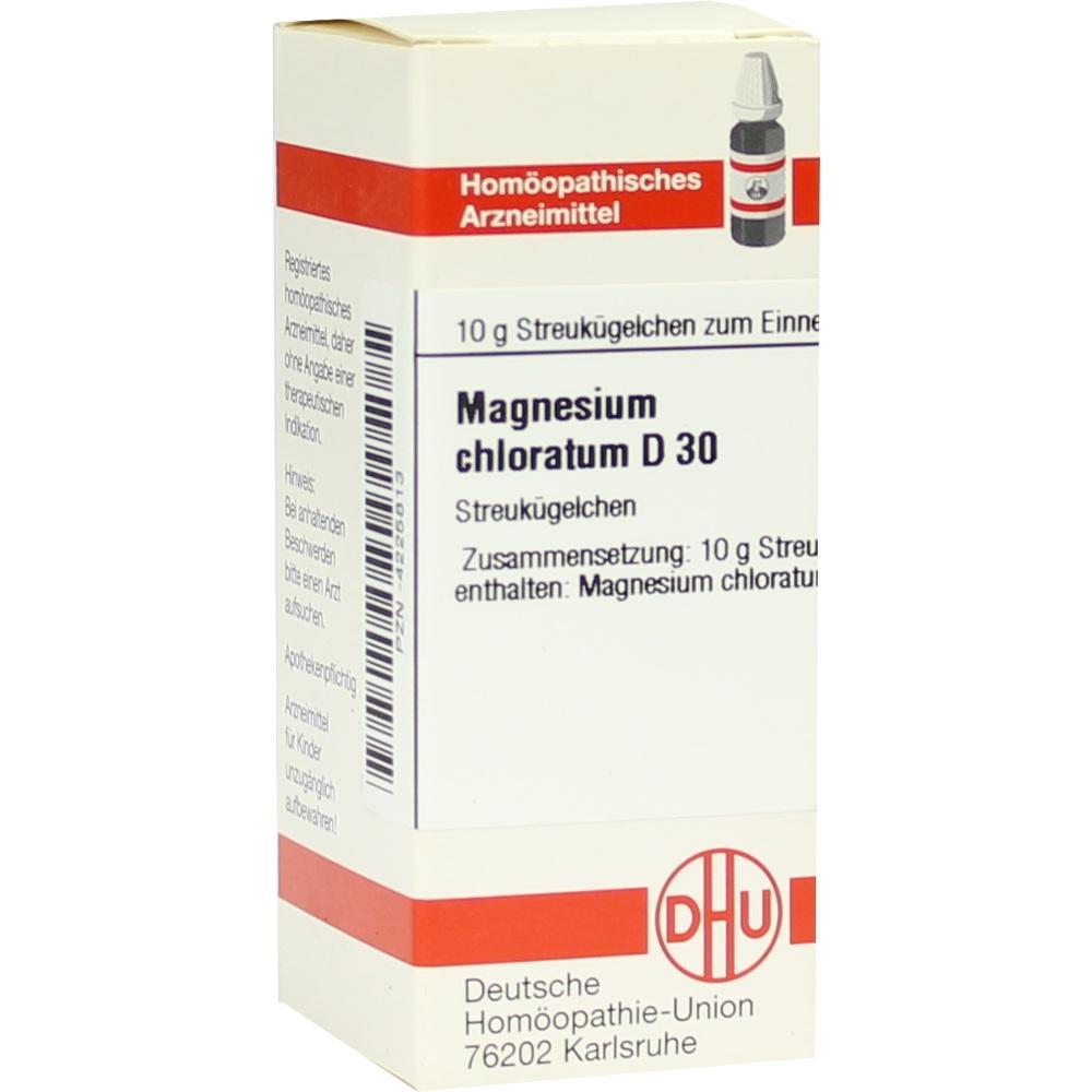 MAGNESIUM CHLORATUM D 30 Globuli