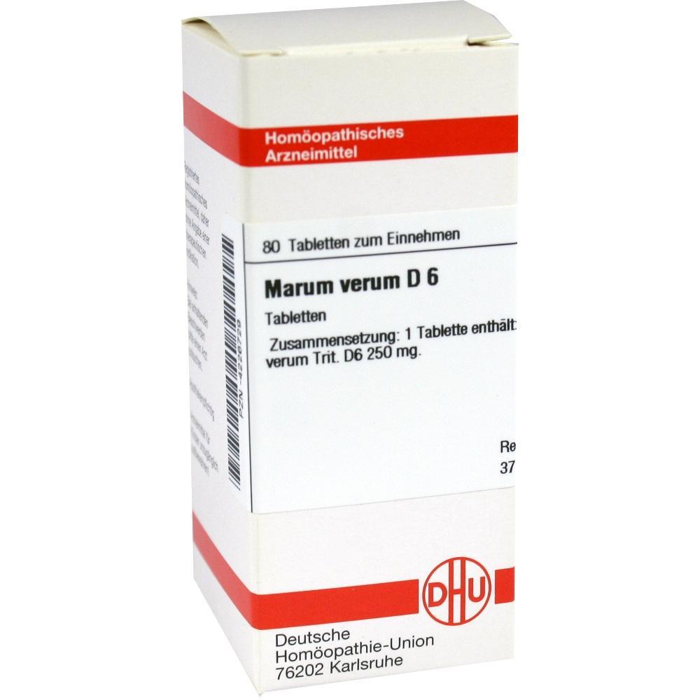 MARUM VERUM D 6 Tabletten