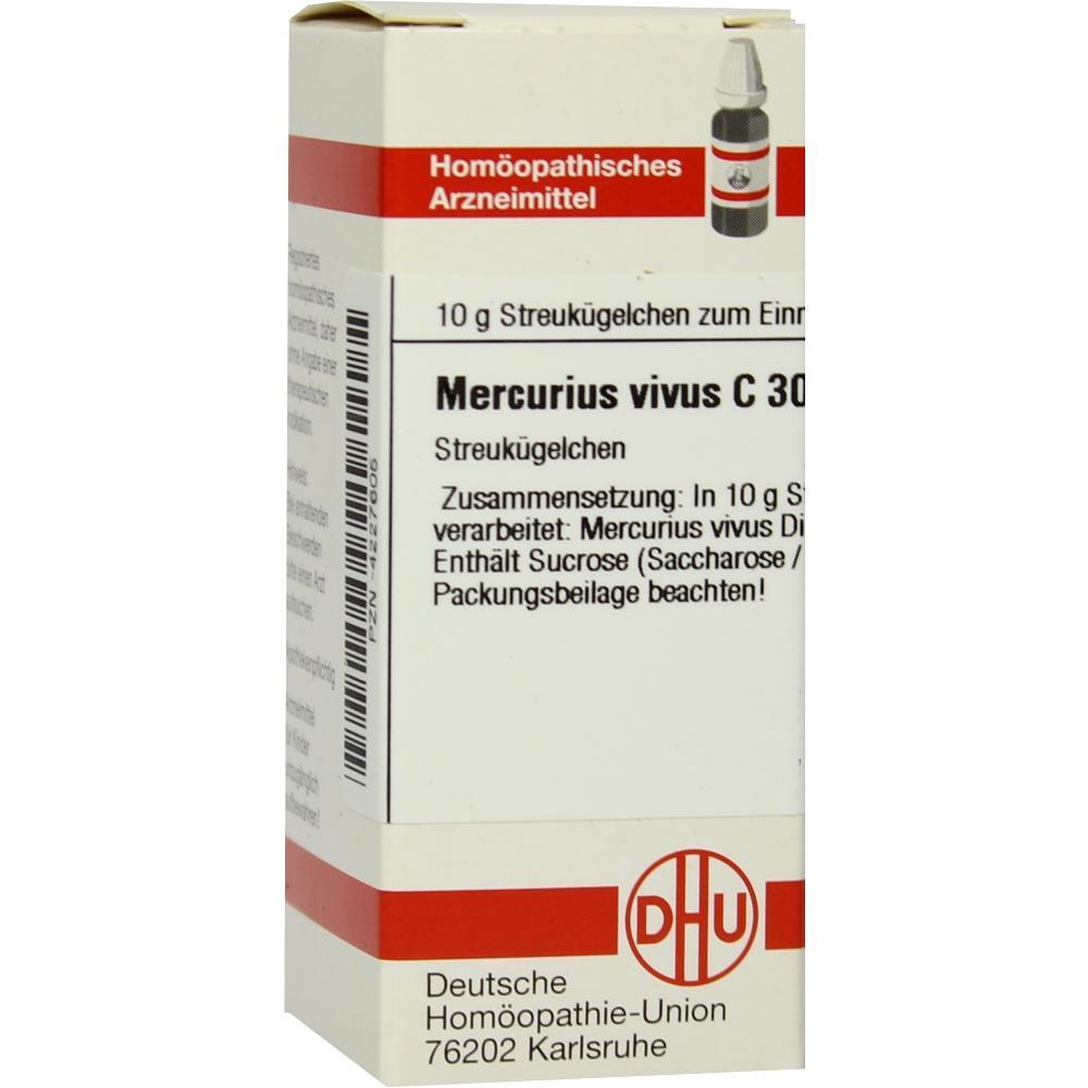 MERCURIUS VIVUS C 30 Globuli