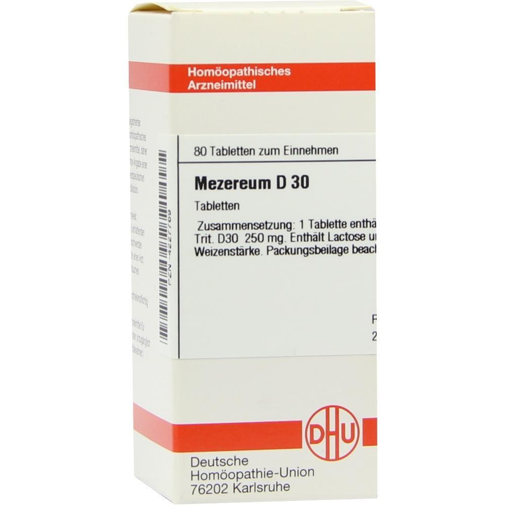 MEZEREUM D 30 Tabletten