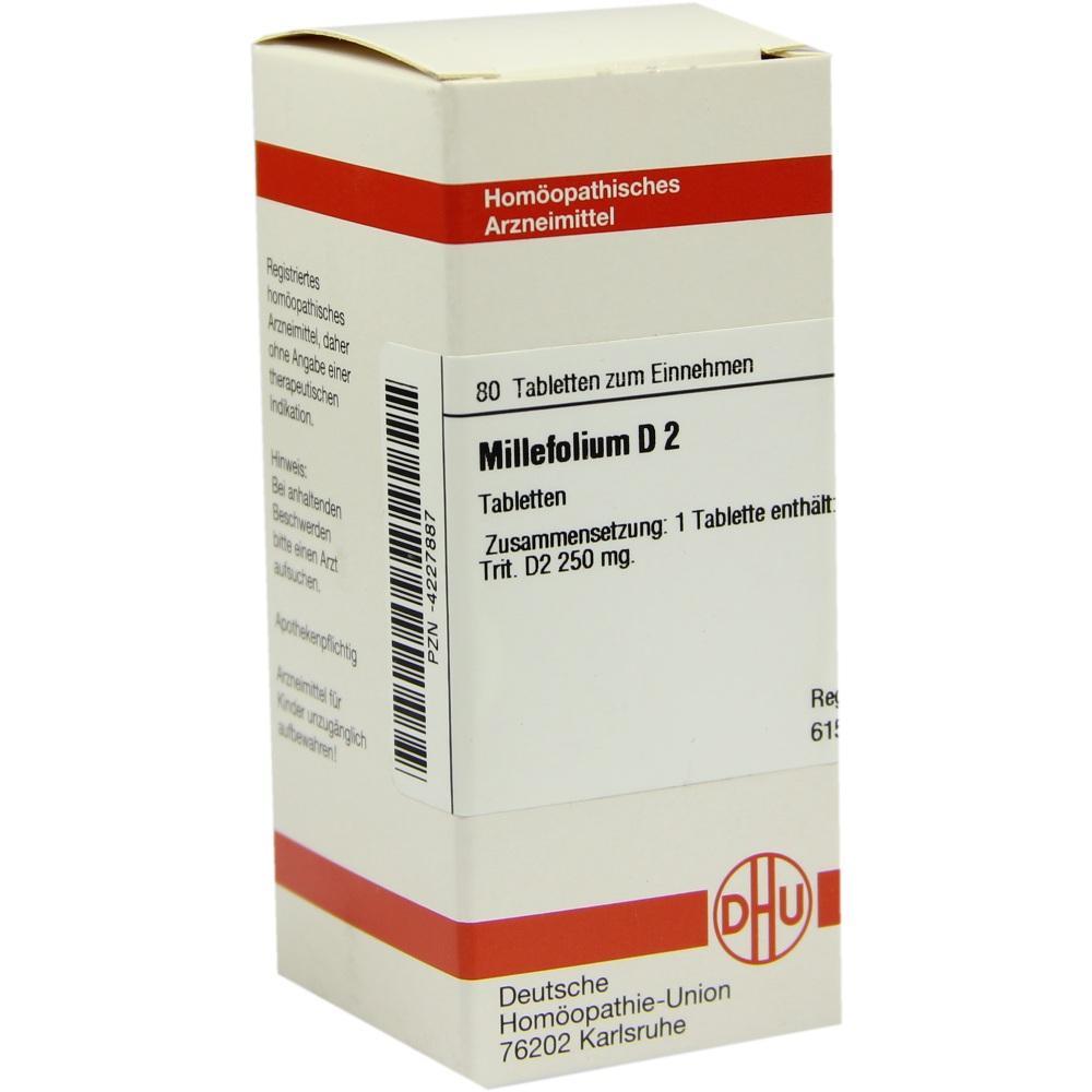 MILLEFOLIUM D 2 Tabletten