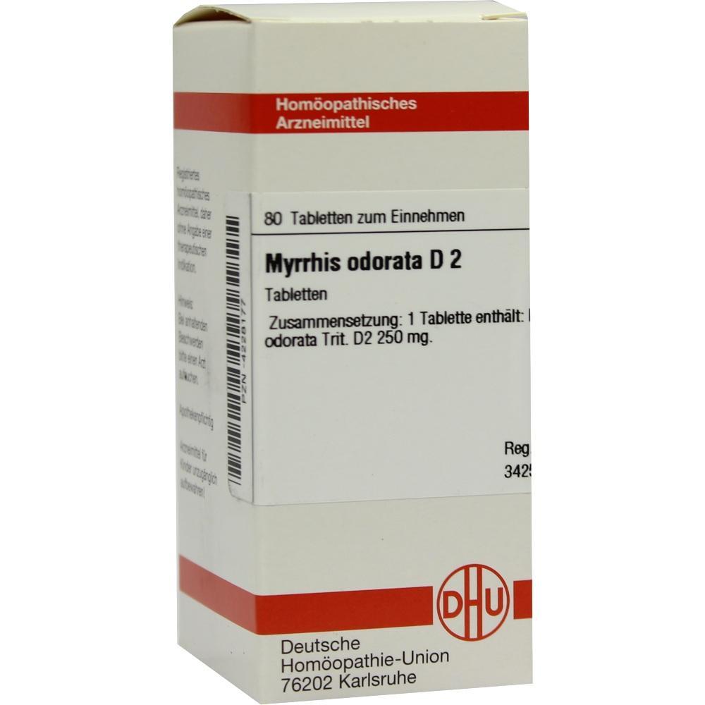 MYRRHIS odorata D 2 Tabletten