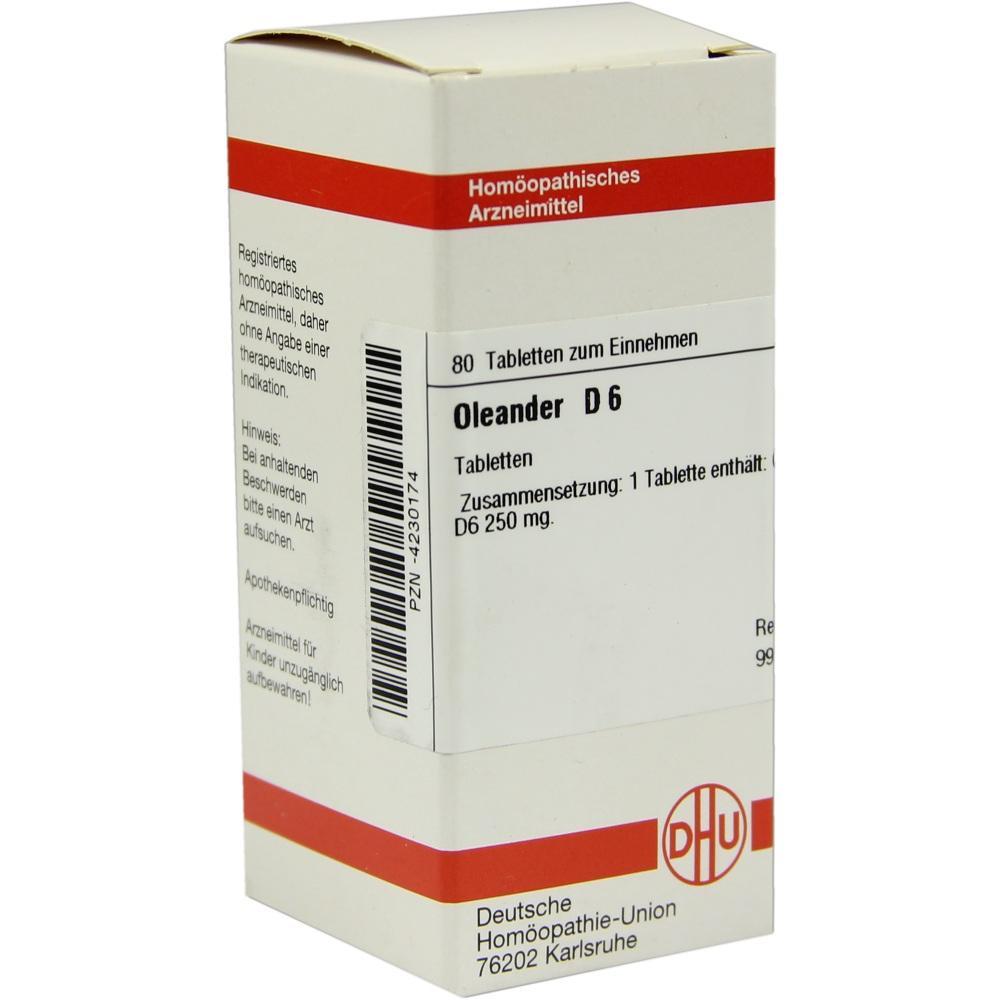 OLEANDER D 6 Tabletten