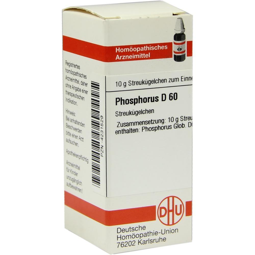 PHOSPHORUS D 60 Globuli
