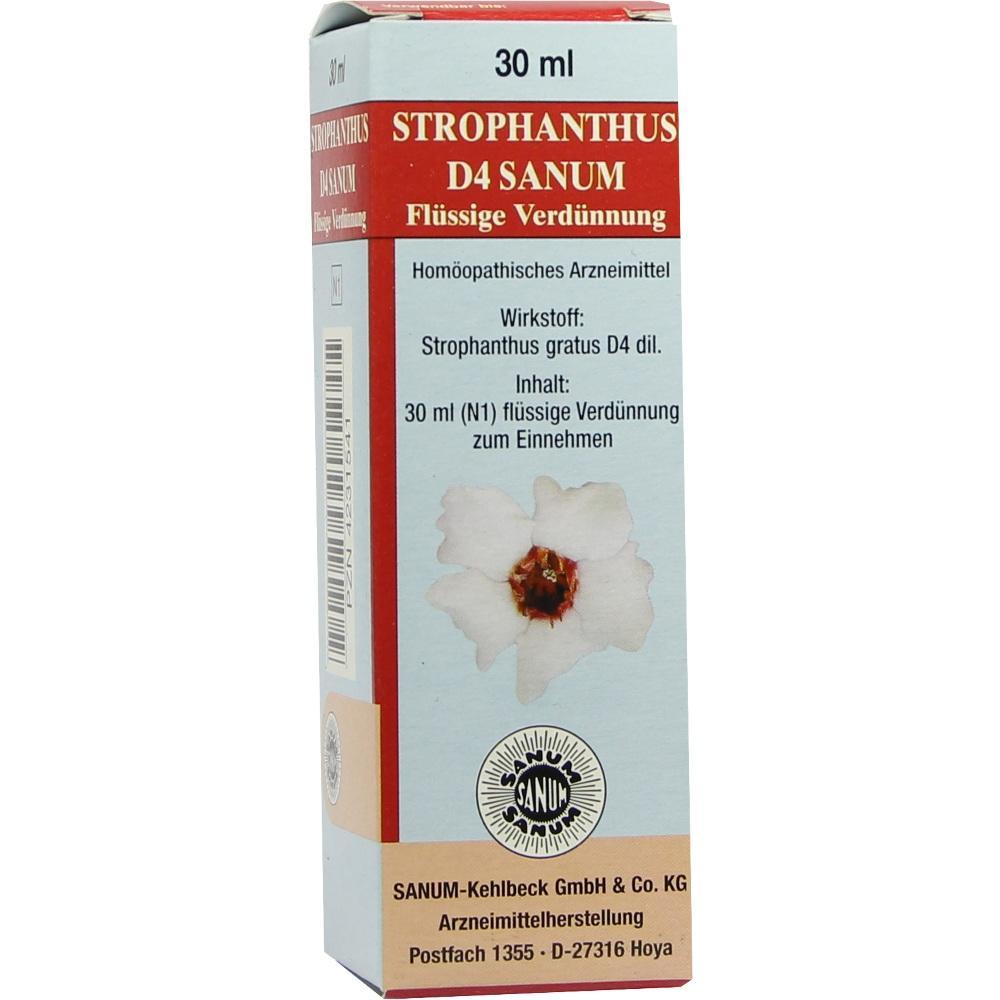 STROPHANTHUS D 4 Sanum Tropfen