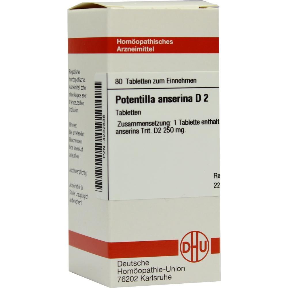 POTENTILLA ANSERINA D 2 Tabletten