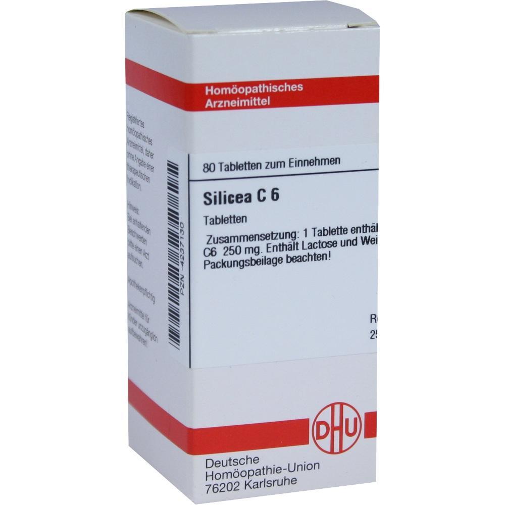 SILICEA C 6 Tabletten