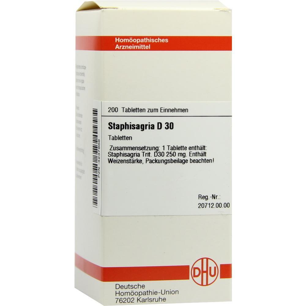 STAPHISAGRIA D 30 Tabletten
