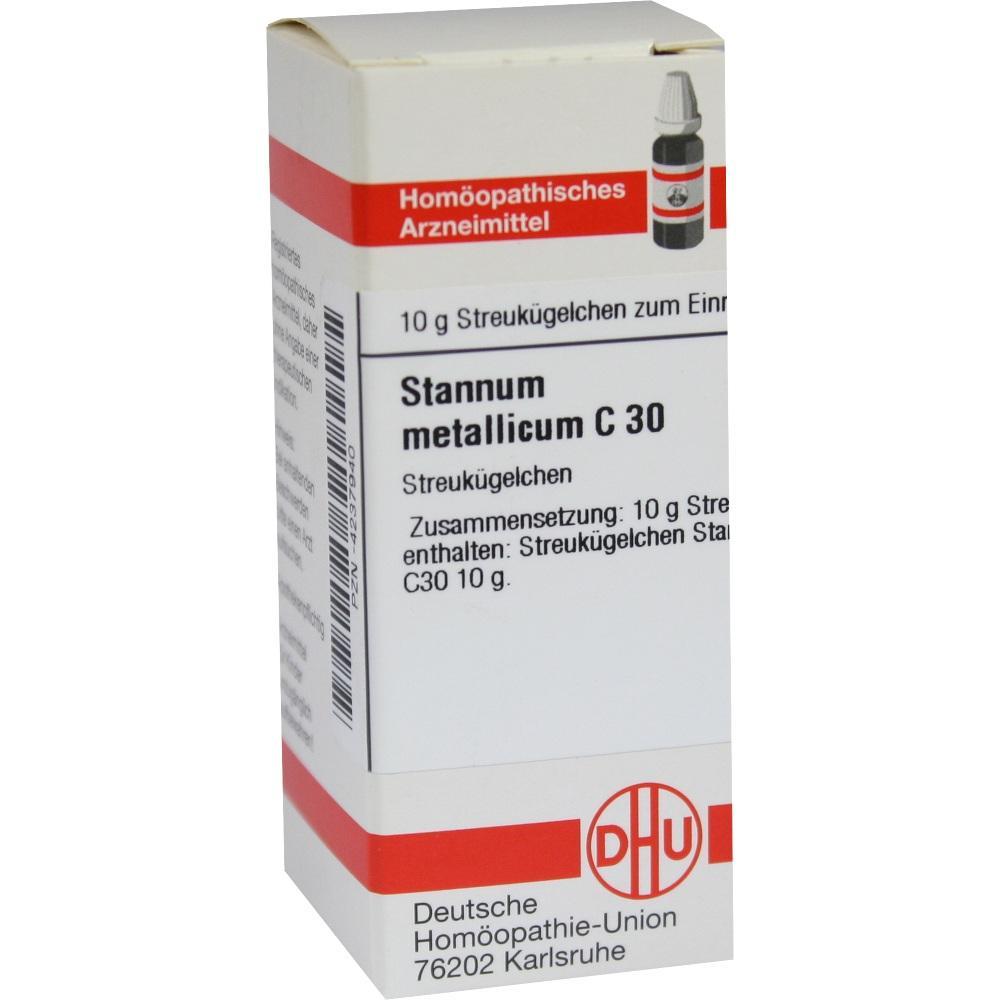 STANNUM METALLICUM C 30 Globuli