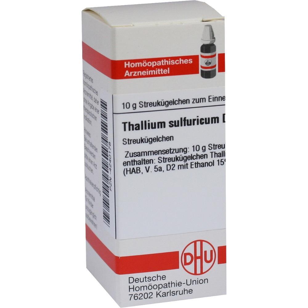 THALLIUM SULFURICUM D 6 Globuli