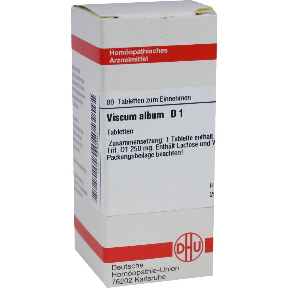 VISCUM ALBUM D 1 Tabletten
