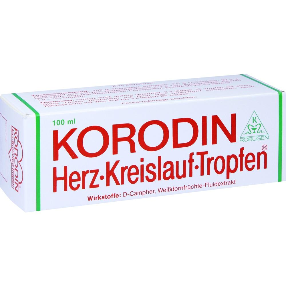 04251615, KORODIN HERZ KREISLAUF TRO, 100 ML
