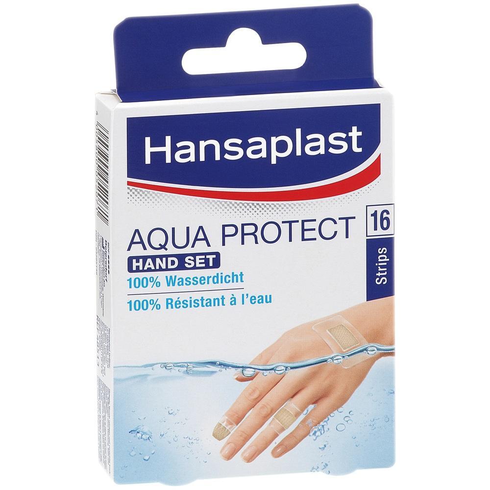 04285146, Hansaplast Aqua Protect Hand Set, 16 ST