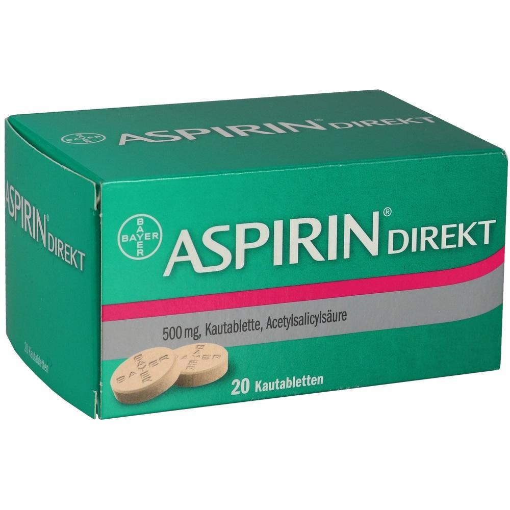 04356254, ASPIRIN DIREKT, 20 ST