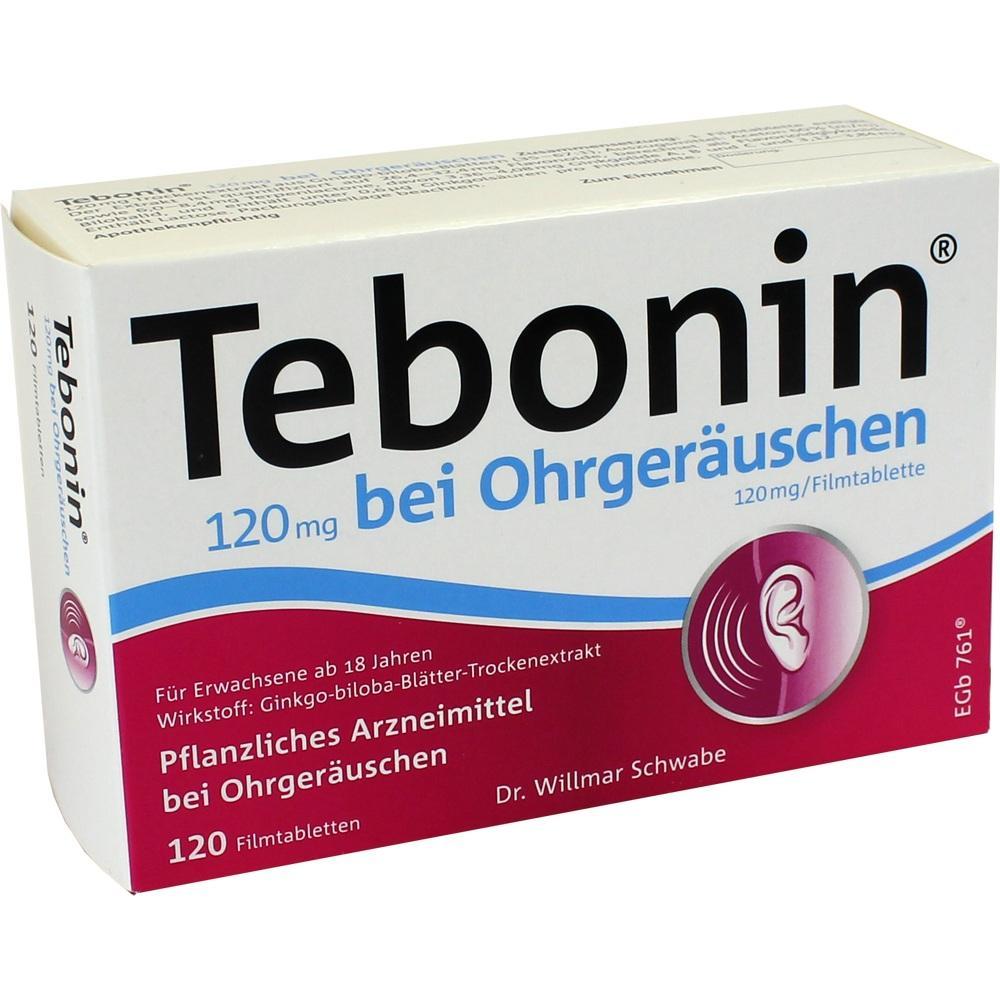 04369251, Tebonin 120 mg bei Ohrgeräuschen, 120 ST