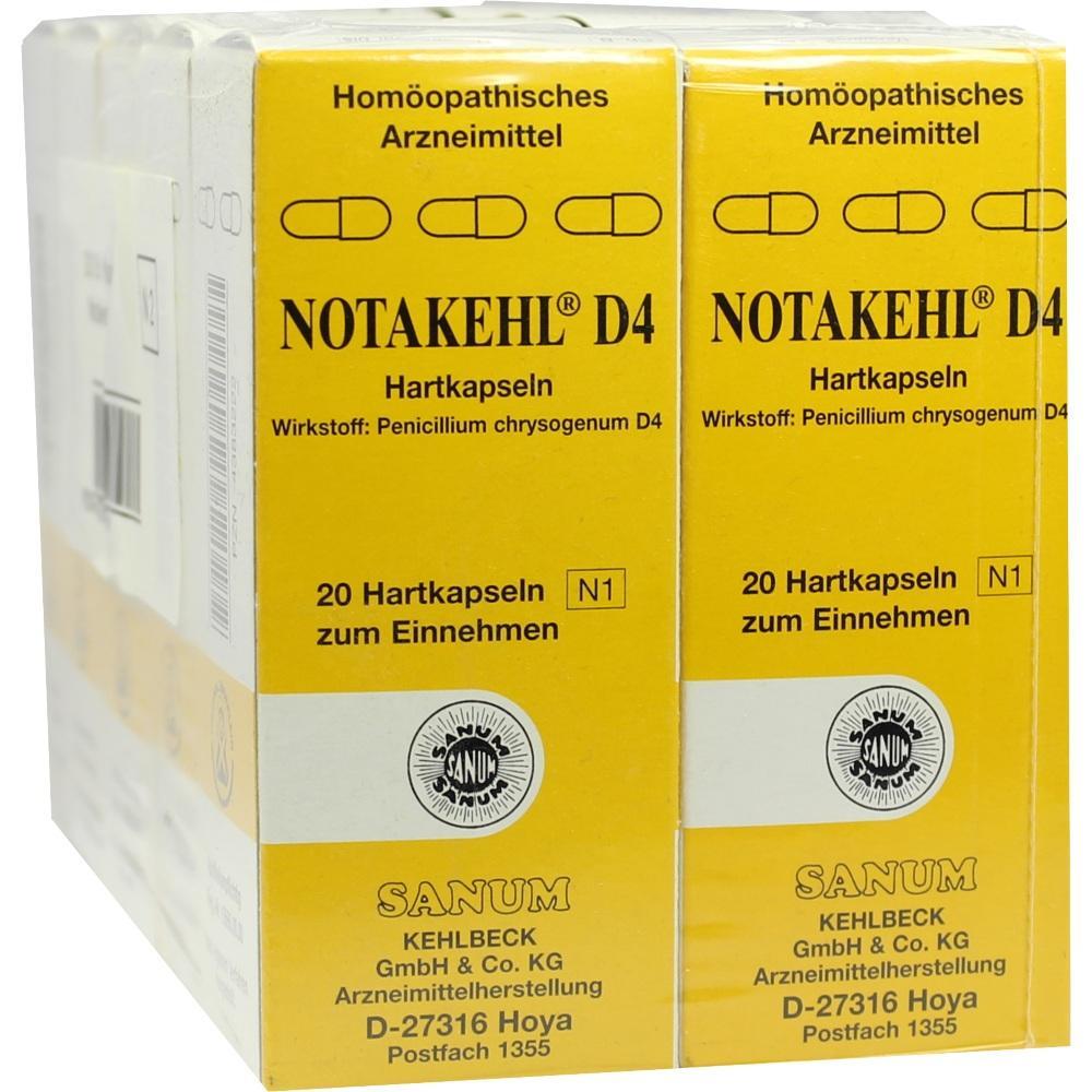 NOTAKEHL D 4 Kapseln