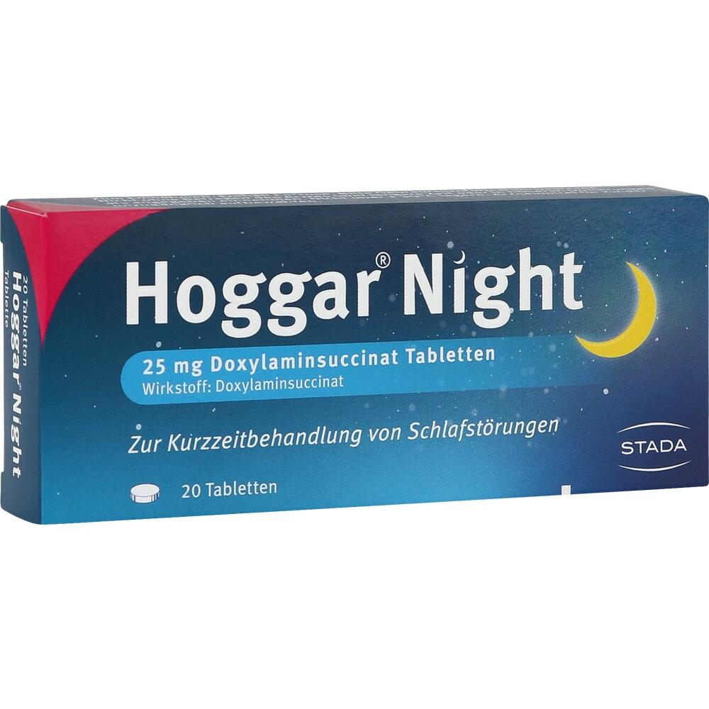 04402066, HOGGAR Night Tabletten, 20 ST