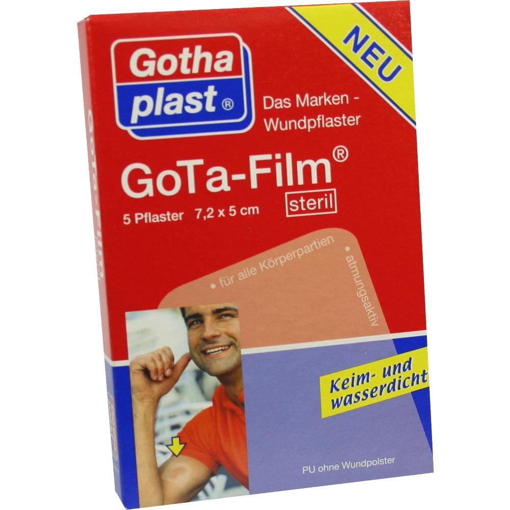 GOTA FILM steril 7,2x5 cm Pflaster