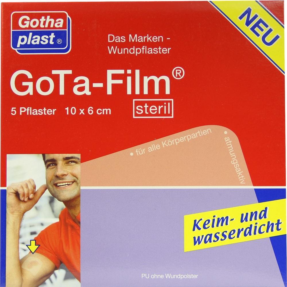 GOTA FILM steril 10x6 cm Pflaster