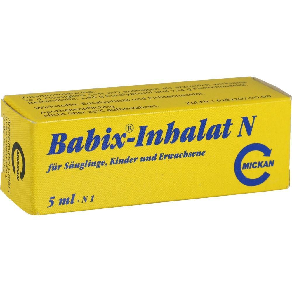 04459652, Babix-Inhalat N, 5 ML