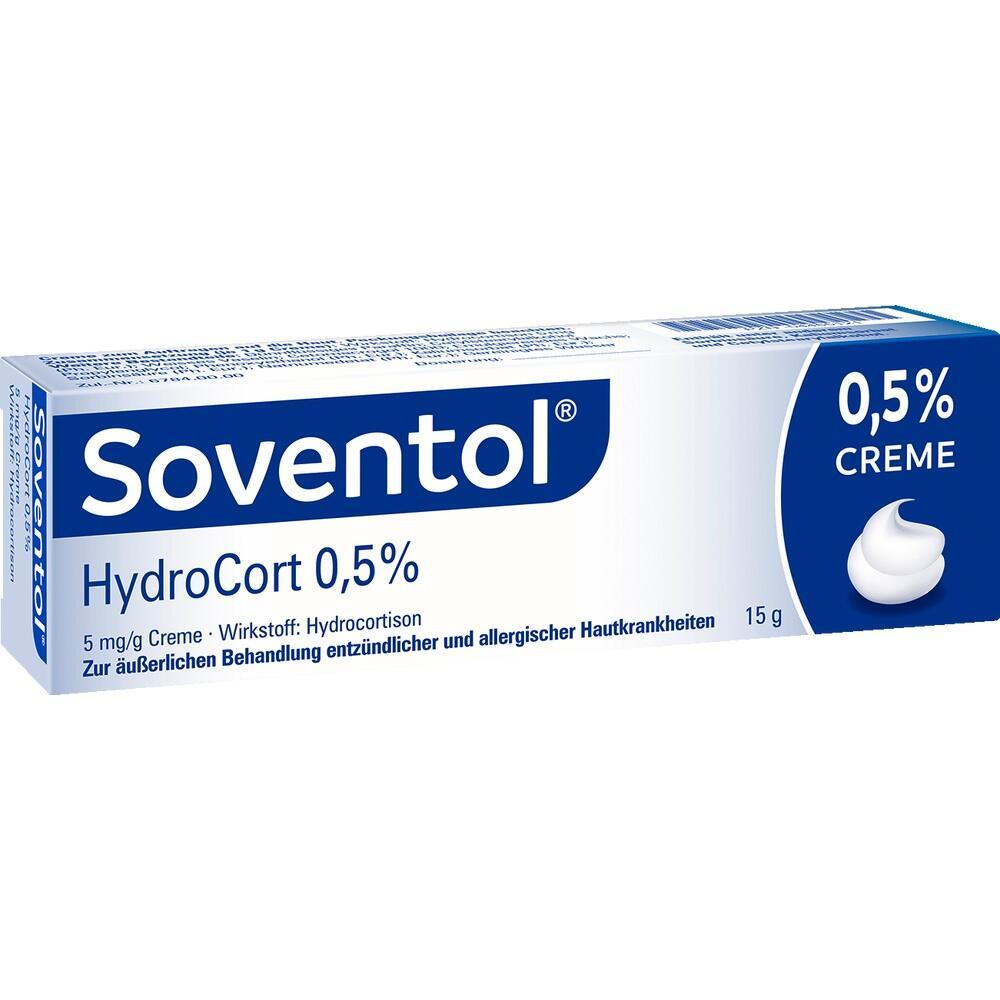 04465121, Soventol HydroCort 0.5% Creme, 15 G