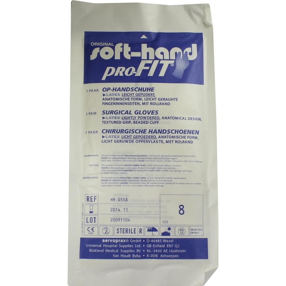 MEDENTA GmbH HANDSCHUHE OP Latex steril Gr.8 04521575