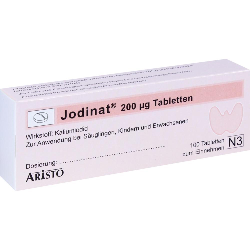 04531214, Jodinat 200ug Tabletten, 100 ST