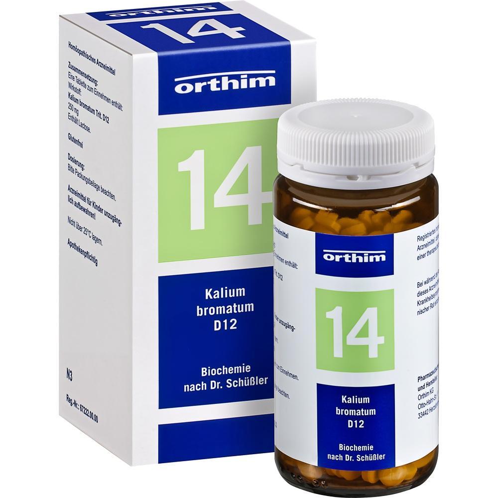 04532372, Biochemie Orthim NR14 Kalium bromatum D12, 400 ST
