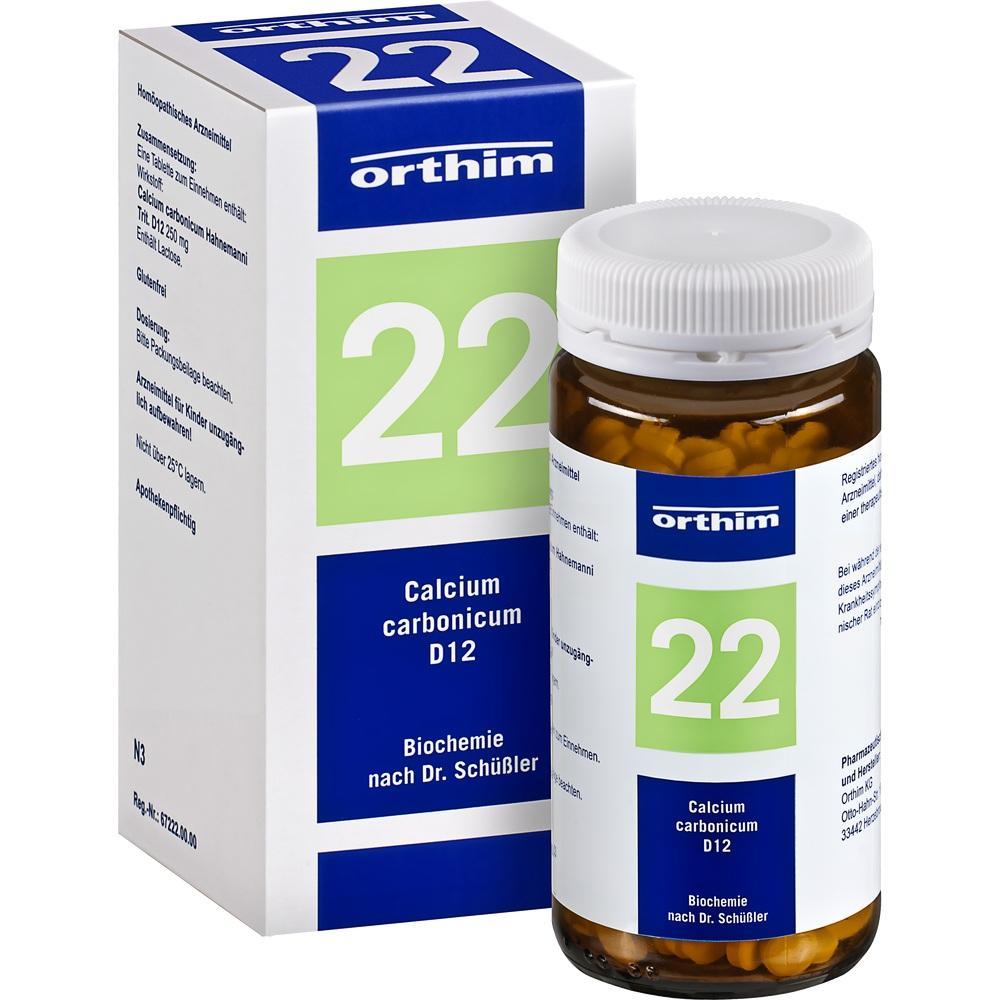 04532811, Biochemie Orthim NR22 Calcium carbonicum D12, 400 ST