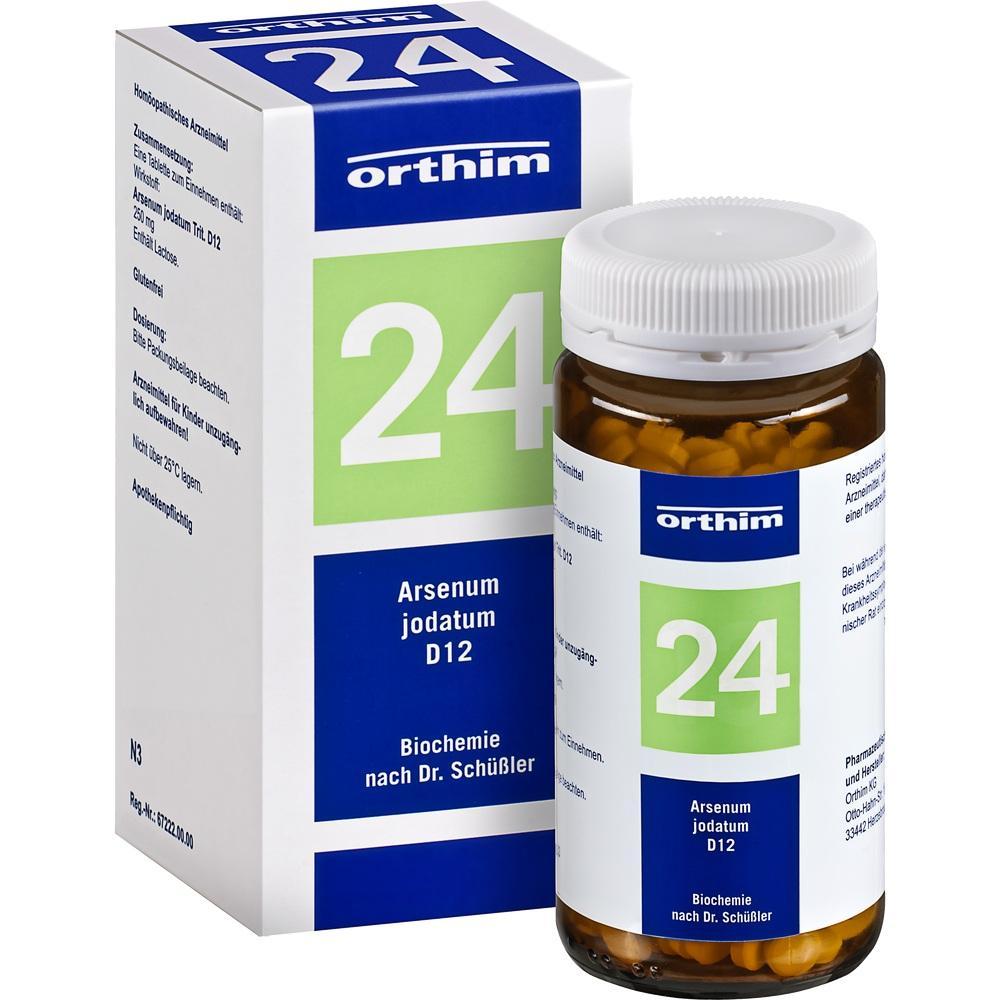 04533006, Biochemie Orthim NR24 Arsenum jodatum D12, 400 ST