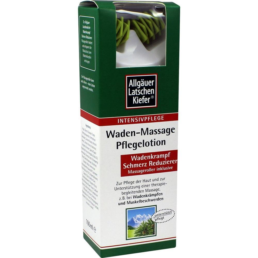 04552506, Allgäuer Latschenkiefer Waden-Massage Pflegelotion, 100 ML