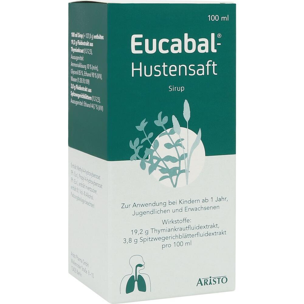 04582163, EUCABAL HUSTENSAFT, 100 ML