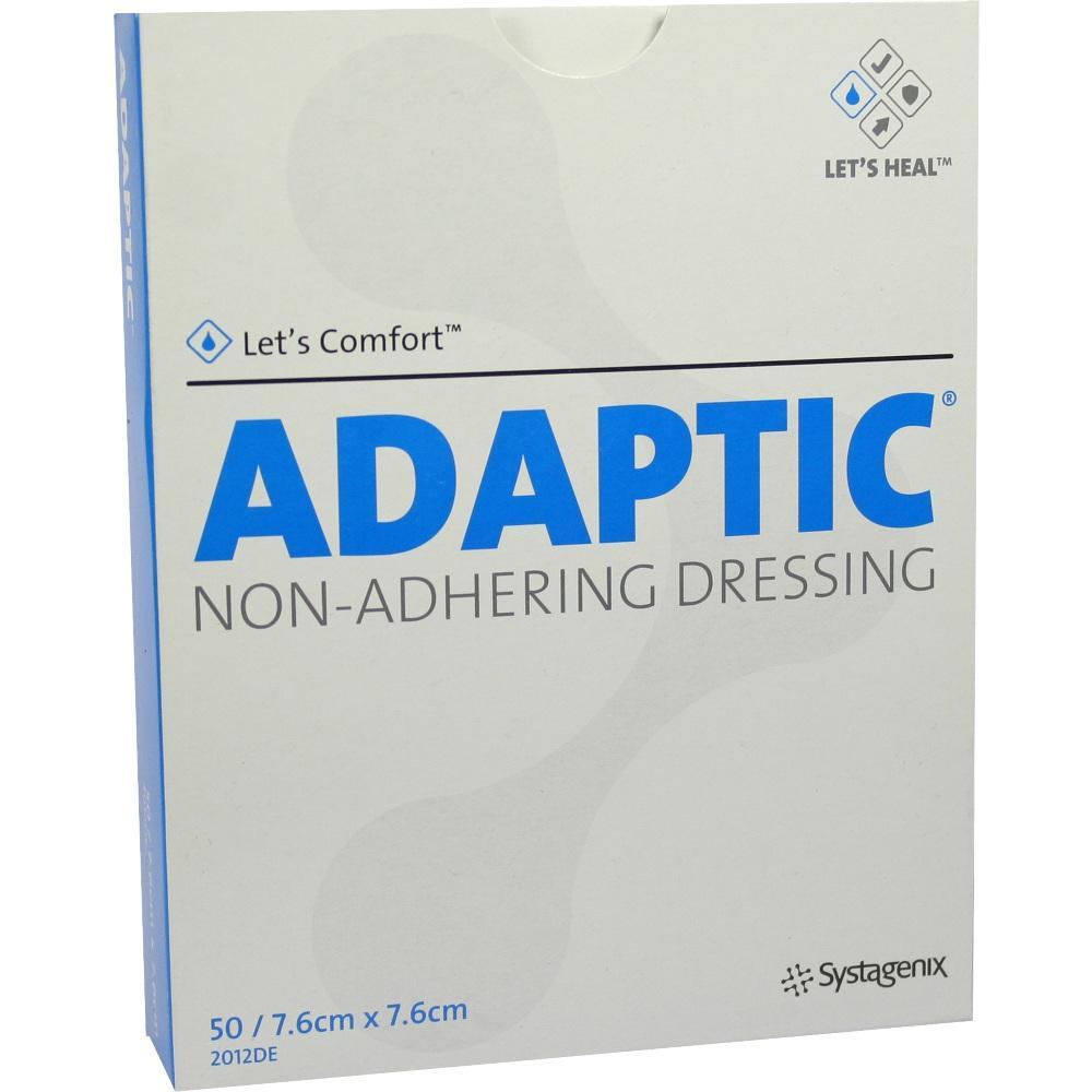 ADAPTIC 7,6x7,6 cm feuchte Wundauflage 2012DE