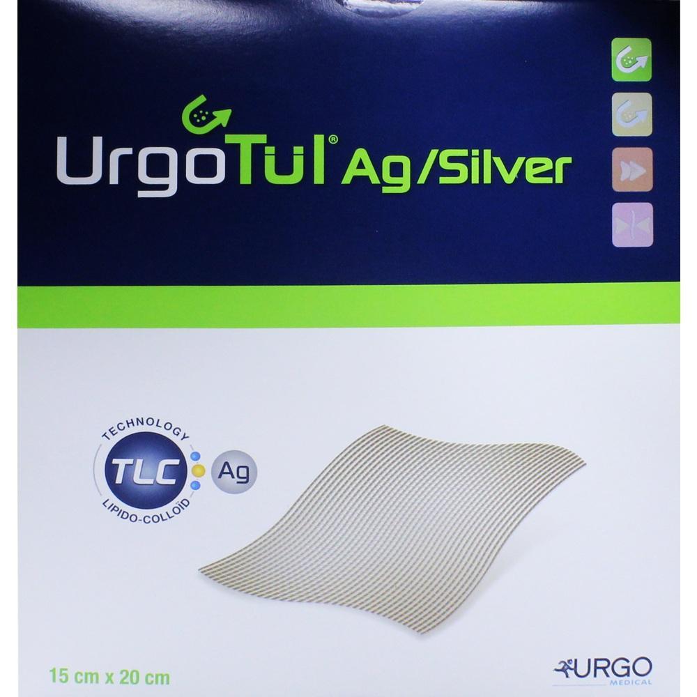 URGOTÜL Silver 15x20 cm Wundgaze