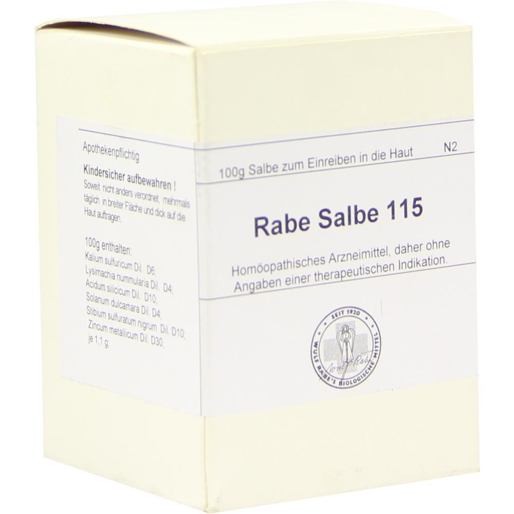 04680552, RABE SALBE 115, 100 G