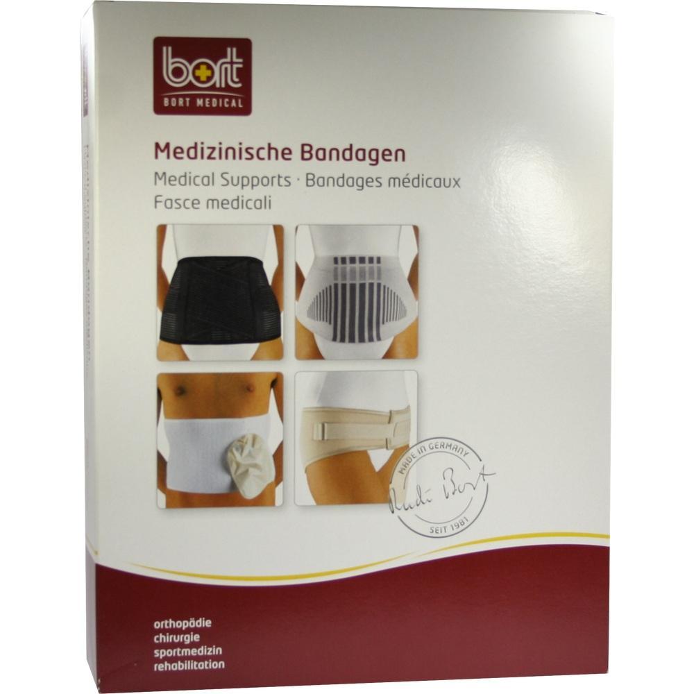 BORT VarioBasic Rückenbandage medium schwarz